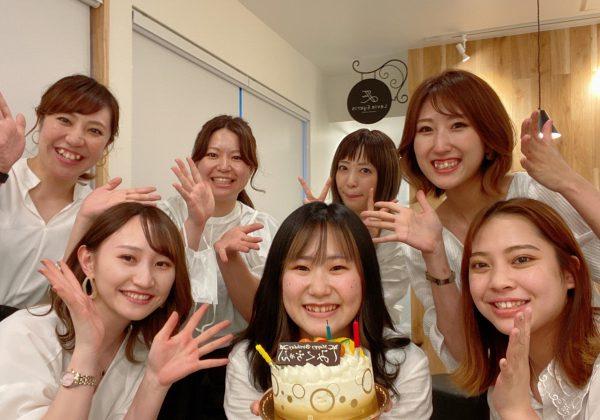 誕生日・HAPPY!(^^)!
