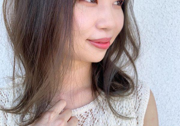 夏映え可愛い☆シースルーマットカラー